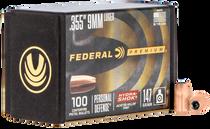 Federal Bullets .355 147gr 9mm, HS, 100rd/Box