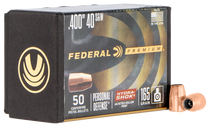 Federal Bullets .400 165gr 40SW/10mm, HS, 50rd/Box
