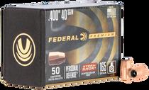 Federal Bullets .400 165gr 40SW/10mm, HS, 50rd/Box