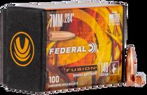 Federal Bullets .284 140gr, FUS, 100rd/Box