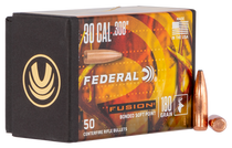 Federal Reloading Bullets .308 180gr, Fusion, 50rd/Box