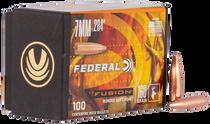 Federal Bullets .284 160gr, FUS, 100rd/Box