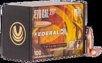 Federal Bullets .277 150gr, FUS, 100rd/Box