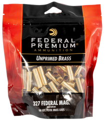 Federal Gold Medal Unprimed Brass 327 Fed Mag, 100rd/Bag