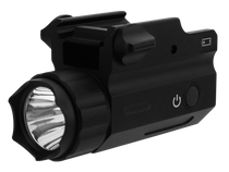 TacFire Tactical Clear Handgun Light, 360 Lumens, Black Aluminum