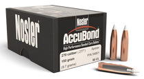 Nosler AccuBond Bullets 270 Caliber 150gr, Spitzer Boat Tail, 50/Box