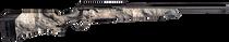 "Savage Axis II 22-250 Rem, 20"" Barrel, Synthetic Mossy Oak Overwatch Stock Gunsmoke Gray PVD, 4rd"