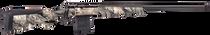 "Savage 110 Ridge Warrior Bolt 6.5 Creedmoor, 24"" Barrel, Accustock Mossy Oak Overwatch Stock Gunsmoke Gray PVD, 10rd"