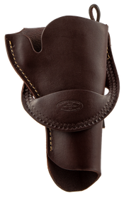"""Hunter Crossdraw 4.625"""" Single Action, Leather Brown"""