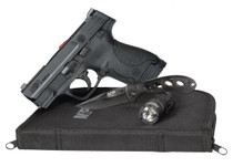 "Smith & Wesson M&P9 Shield 9mm *CA* EDC Kit, 3.1"" Barrel, Fixed Sights, Black, 2x 8rd"