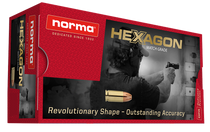 Norma Hexagon 357 Magnum 180Gr, Hexagon, 50rd/Box