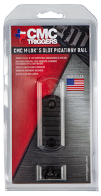 CMC Triggers M-LOK Rail 5 Slot Black M-LOK Rail 5 Slot