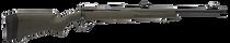 """Savage 110 Hogue Hunter, 350 Legend, 18"""" Barrel, Black Barrel and Action, Olive DrabGreen Polymer Stock, Adjustable Iron Sights, 4Rd,"""