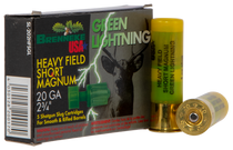 "Brenneke Green Lightning 20 Ga, 2.75"" Slug, 1oz, 5rd/Box"