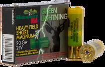 """Brenneke Green Lightning 20 Ga, 2.75"""" Slug, 1oz, 5rd/Box"""