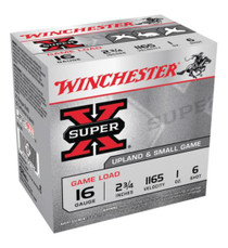 "Winchester Super-X Game 16 Ga, 2.75"", 1oz, 6 Shot, 25rd/Box"