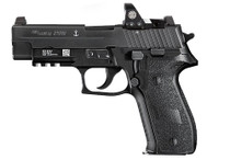 "Sig P226 MK25 9mm, 4.4"" Barrel, Romeo1 Reflex Sight, Black, 3x15rd Mags"
