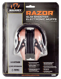 Walker Razr Slim Electric Muff Rose Gold
