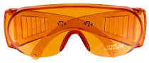 Walker Full Cover Shooting Glasses Amber