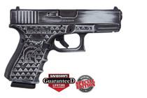 "Glock 19 Gen 4 Battleworn Apollo Stipple Cerakote Finish 9mm 4"" Barrel 3x15rd Mags"