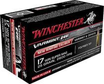 Winchester Varmint HV .17 Win Super Mag 20gr, V-Max, 50rds/Box