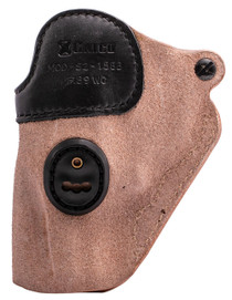 """Galco Scout 3.0 S&W J Frame 640 Centennial 2.125"""", Steerhide Natural, Black Mouth Band"""