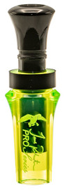 Duck Commander Pro Series Mallard Duck Call, Acrylic/Polycarbonate Chartreuse/Black
