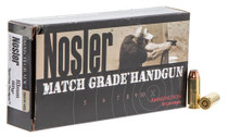 Nosler Match Grade 10mm 180gr, Jacketed Hollow Point, 50rd/Box