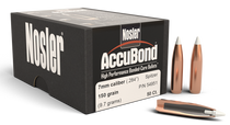 Nosler AccuBond Reloading Bullets 7mm .284 150gr, Spitzer Boat Tail, 50rd/Box