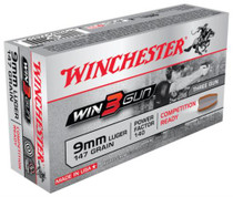 Winchester 3Gun 9mm 147 Grain 3-Gun