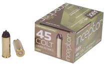 Inceptor Preferred Hunting 45 Colt 157gr, ARX, 20rd/Box