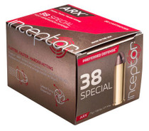 Inceptor Preferred Defense 38 Special 77gr ARX, 20rd/Box