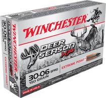Winchester Deer Season XP 30-06 Sprg 150 gr, Extreme Point 20rd/Box