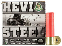 "HEVI-Shot Hevi-Steel 28 Ga, 2.75"", 4 3/4oz, 25rd/Box"