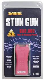 Sabre 600,000 Volt Mini Stun Gun, Pink