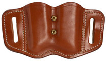 1791 Gunleather Mag-F-2.2-CBR Double Mag Poly Double Stack C, Brown