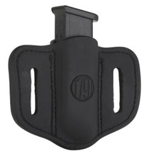 1791 Gunleather Mag-1.2-SBL Single Mag Double Stack Black