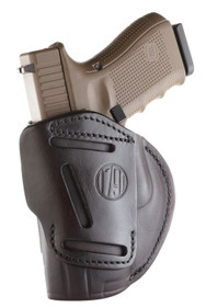 1791 Gunleather 4 Way Beretta 92/M9/Px4 Storm, CZ 75/P10/P07/P01, Glock 17/19/20/21/31/32/38/45 Steerhide, Signature Brown