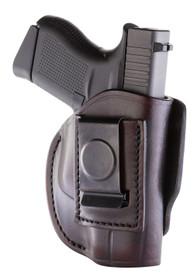 1791 Gunleather 4 Way Glock 42/43, Kel-Tec 380/P11, Ruger LCP, S&W Bodyguard, Sig P365 Steerhide, Signature Brown