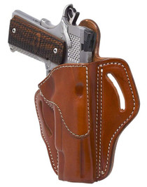 """1791 Belt Holster 1, Right Hand, Classic Brown Leather, Fits 1911 4"""" & 5"""""""