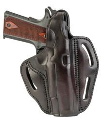 "1791 Gunleather Multi-Fit Belt BHX OWB 1911 4-5"", Signature Brown, RH"