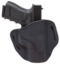 1791 BH2.1, Belt Holster, Right Hand, Black, Leather, Fits 1911 Officer with Rail / Glock 17, 19, 19x, 23, 25, 26, 27, 28, 29, 30, 32, 33, 45, 48 / FN FNS-9 / Ruger SR9, SR40, SR22 / S&W MP9, MP40, MP40c, Shield, 5903 / Sig P225-A1, P228, P229, P229c / Sp