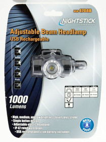Bayco Nightstick USB Headlamp 1000L Adjustable Beam