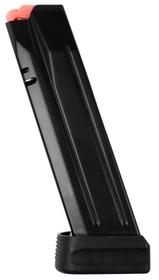 CZ P-10 Full Size Magazine 9mm, Steel Black, 15rd