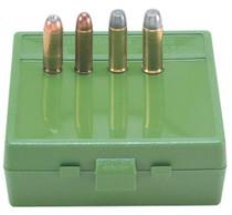 MTM Case Gard Express Ammo Box .50 Action Express, .475 and .500 Linebaugh Green