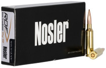 Nosler Match Grade RDF 6mm Creedmoor 105gr, Hollow Point Boat Tail, 20rd/Box