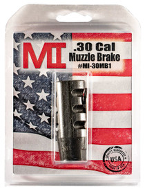 Midwest Muzzle Brake, 30 Caliber, 5/8X24 Thread, Phosphate Finish,ludes Crush Washer