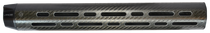 Lancer LCH Carbon Fiber Handguard DPMS LR-308/Armalite AR-10 Rifles, Black, 15 XL