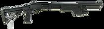 "Wilson Combat CQB Pump 12 Ga, 18.5"" Barrel, 3"", Super-Stoc Carbine Collapsible, Black Parkerized Armor-Tuff, 6rd"