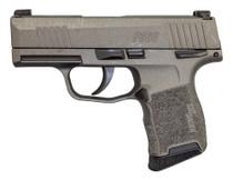 "Sig P365 9mm, 3"" Barrel, XRay3 Night Sights, Manual Safety, Tungsten Gray, 10rd"